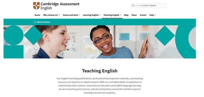 Cambridge Assessment English Sebuah Web Untuk Belajar Bahasa Inggris