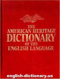 Mengulas Kamus The American Heritage Dictionary
