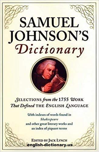 A Dictionary of the English Language Karya Samuel Johnson