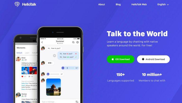 HelloTalk Merupakan Sebuah Aplikasi Untuk Language exchange